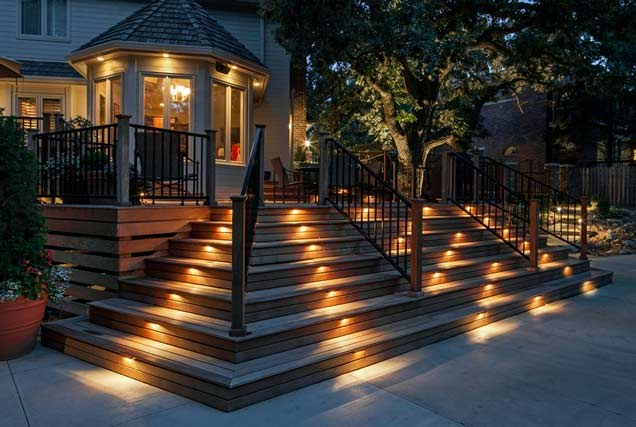 Staircase Outdoor Lighting